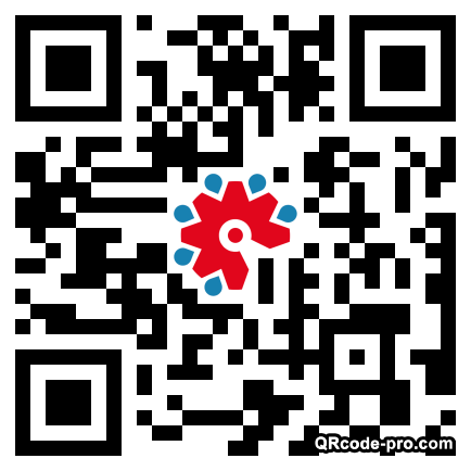 QR code with logo 23j60