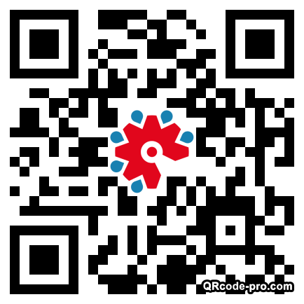 QR code with logo 23jD0