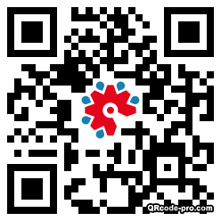 QR code with logo 23jm0