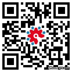 QR code with logo 23jp0