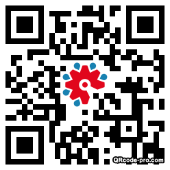 QR code with logo 23jr0