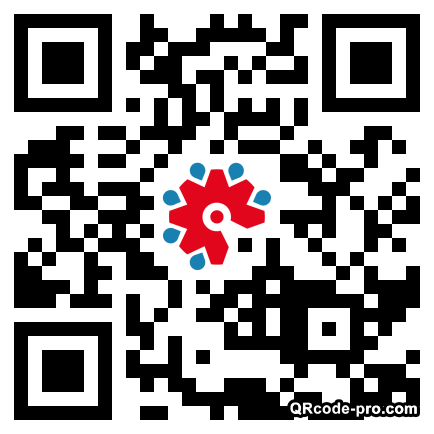 QR code with logo 23js0