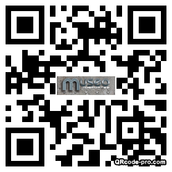 QR code with logo 23k50