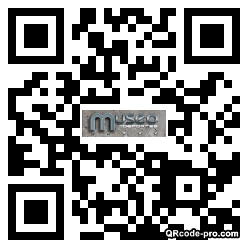QR code with logo 23kt0