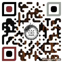 QR code with logo 23yP0
