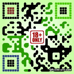 QR code with logo 244k0
