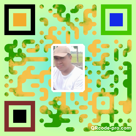 QR code with logo 244r0