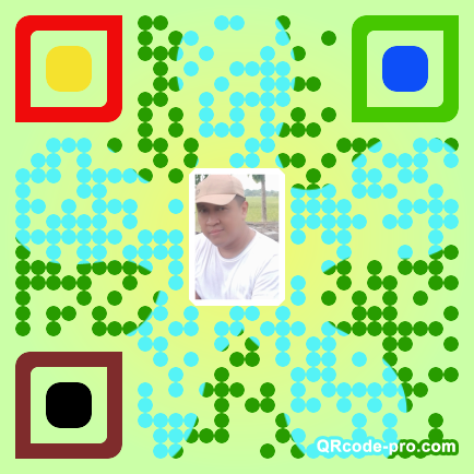 QR code with logo 244w0