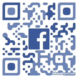QR code with logo 245Z0