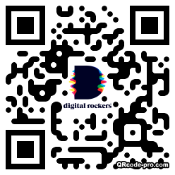QR code with logo 245d0