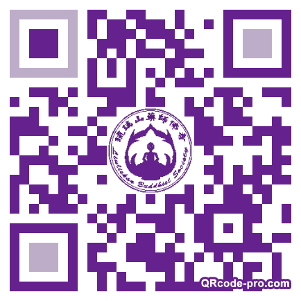 QR code with logo 247X0