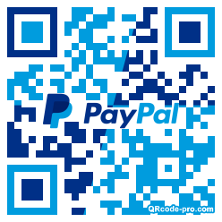 QR code with logo 24Ag0