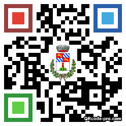 QR code with logo 24At0