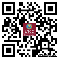 QR code with logo 24Bl0