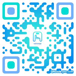 QR code with logo 24Bw0