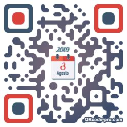 QR code with logo 24Gh0