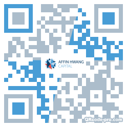 QR code with logo 24Ih0