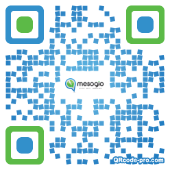 QR code with logo 24K90