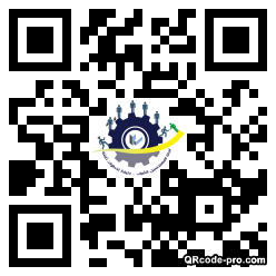 QR code with logo 24Lw0
