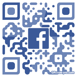 QR code with logo 24My0