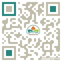 QR code with logo 24Ox0