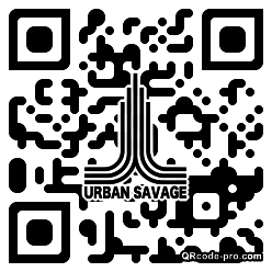 QR code with logo 24Tw0