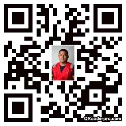 QR code with logo 24Uk0