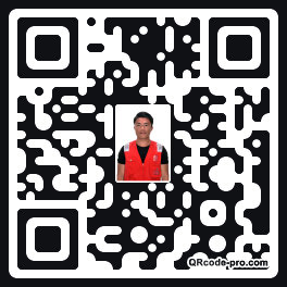 QR code with logo 24Vb0