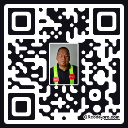 QR code with logo 24Vf0