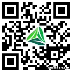 QR code with logo 24Vr0