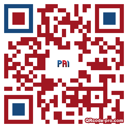 QR code with logo 24nh0
