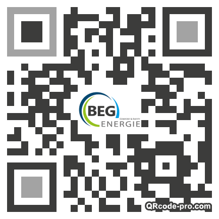 QR code with logo 24oh0