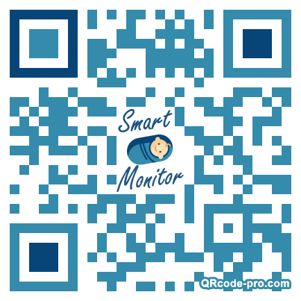 QR code with logo 24pF0
