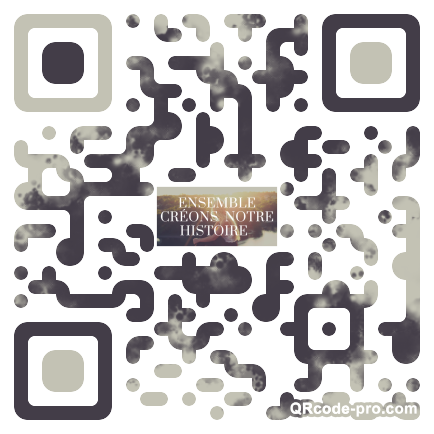 QR code with logo 24pN0