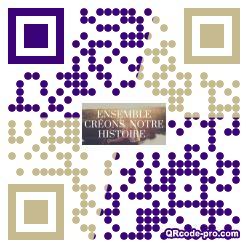 QR code with logo 24pQ0