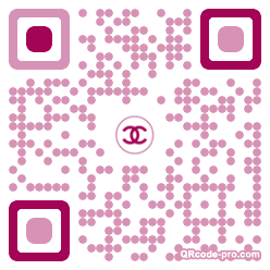 QR code with logo 24wx0