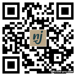 QR code with logo 24xs0