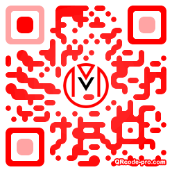 QR code with logo 25030