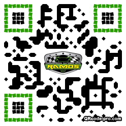 QR code with logo 25080