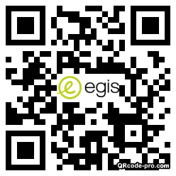 QR code with logo 25350