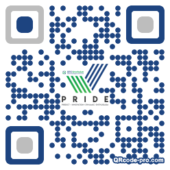 QR code with logo 25570