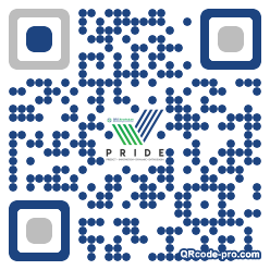 QR code with logo 25590