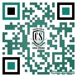 QR code with logo 255U0