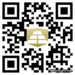 QR code with logo 25760