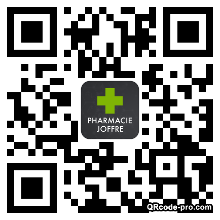 QR code with logo 258K0