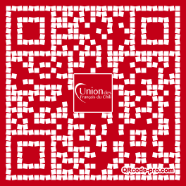 QR code with logo 25Ax0