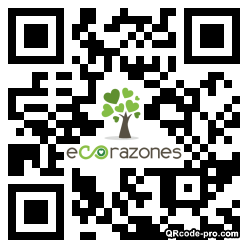 QR code with logo 25Bj0