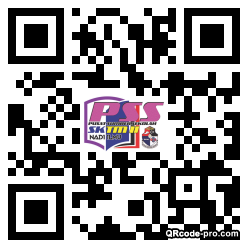QR code with logo 25F80