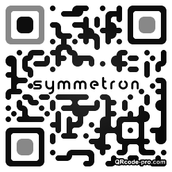 QR code with logo 25Lb0