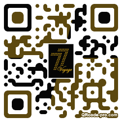 QR code with logo 25Na0